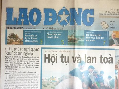 bao lao dong